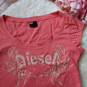 Diesel y2k cotton t-shirt
